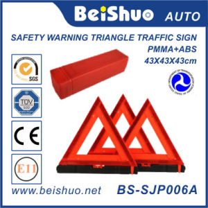 Reflective Car Safety Hazard Warning Sign for Traffic pictures & photos