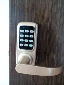 Single Tongue Password Mortise Lock pictures & photos