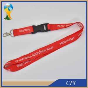 Simple Logo Woven Lanyard for Custom Event pictures & photos