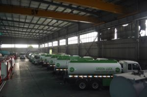 22500L Aluminum Alloy Fuel Tank Truck for Light Diesel Oil Delivery pictures & photos