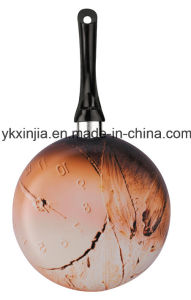 Aluminum Laser Printing Ceramic Non-Stick Fry Pan pictures & photos
