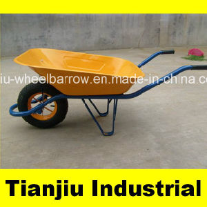 Powered Commercial Wheelbarrow for Sale Wb4211 pictures & photos