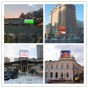 Indoor Outdoor Fixed Install Advertising Rental LED Video Display Screen/Sign/Panel/Wall/Billboard pictures & photos