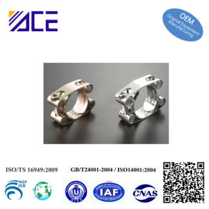 Double Bolts Super Hose Clamp/Pipe Clamp pictures & photos