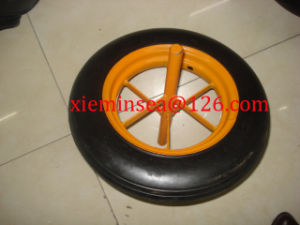 14*4 Solid Rubber Wheel pictures & photos