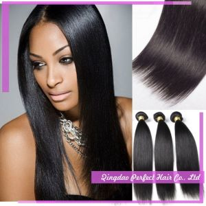 Silky Straight Cheap Remy Virgin Brazilian Hair Weave pictures & photos