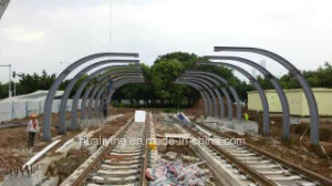 Steel Structure Awing for Subway pictures & photos