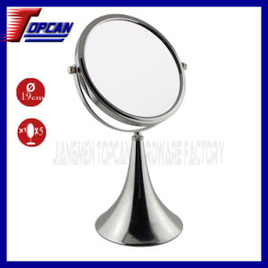 10X Metal Decorative Magnifying Cosmetic Mirror