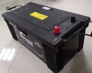 12V200ah JIS Standard Maintenance Free Vehicles Battery pictures & photos
