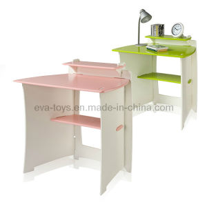 Children Study Desk with Shelf (WO8G093) pictures & photos