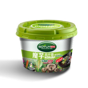 Instant Konjac Noodles with Beef Flavor pictures & photos
