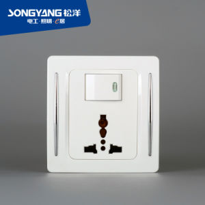 New Electric Switch White Series Multifunction Wall Socket pictures & photos