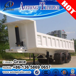Soil Containing Waste Matter Transporting Tipper Trailer Vehicles, Dump Truck Trailer pictures & photos