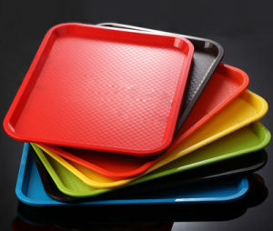 Plastic Dinnerware ABS Rectangular Tray (TP-8460) pictures & photos