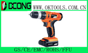 Single Speed Drill with Brand Battery Like Tianpeng/Sumsang