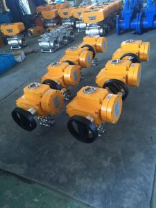 3 PC Thread Explosion-Proof Electric Ball Valve pictures & photos