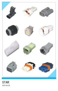 3pin Auto Waterproof Electric Connector pictures & photos