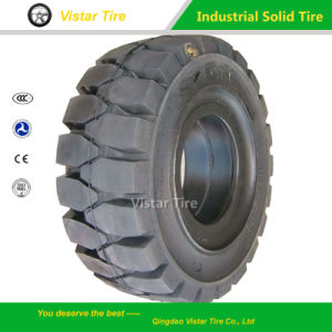 Industrial Forklift Pneumatic Solid Tyre 6.00-9 pictures & photos