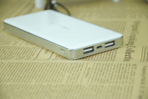 10000mAh Mobile Power Bank for Business Trip with Dual Output pictures & photos
