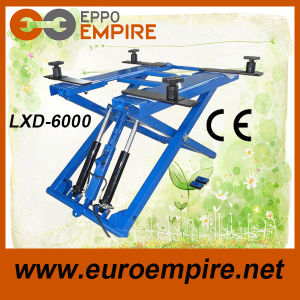 High Effciency Lxd-60 Hyaraulic Scissor Lift Automotive Car Lift pictures & photos