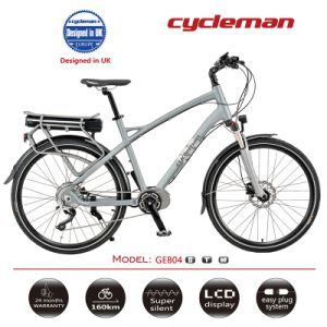 Gentleman Electric Bike, 250W Rear Brushless Motor