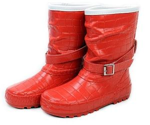 Girl′s Fashionable Rubber Rain Boots pictures & photos