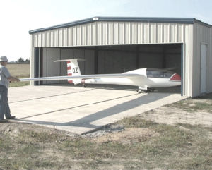 Prefab Light Steel Structure Aircraft Hangar (KXD-108) pictures & photos