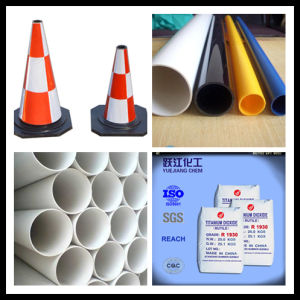 PVC Pipe Used TiO2 with Lower Price pictures & photos