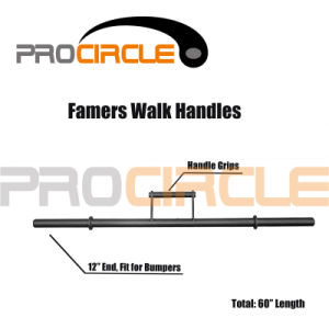Crossfit Training Strong Man Farmers Walk Handles (PC-SM1003) pictures & photos