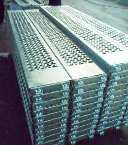 Glavanized Layher Frame Scaffolding Steel Plank/Platform/Walkboard pictures & photos
