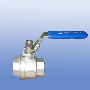 Stainless Steel 2PC Floating Ball Valve with Light Type pictures & photos