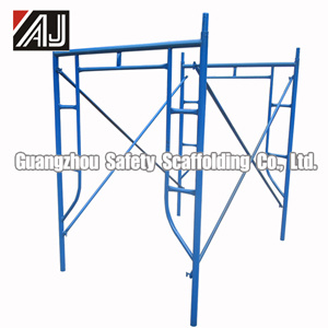 Steel Scaffolding Frame for Concrete Construction, Guangzhou Factory pictures & photos