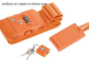 Tsa Strap Lock, Ribbon Lock, Combinaton Lock Al-1063 pictures & photos