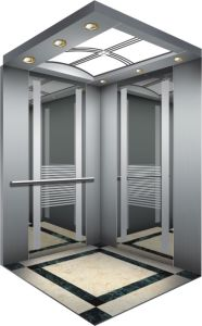Mrl Passenger Lift for Residential Building Elevations pictures & photos