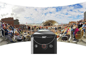 High Quality Vr Digital 360 Degree Camera Wholesales pictures & photos