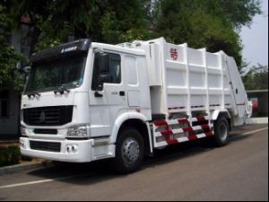 HOWO 4X2 Garbage Truck pictures & photos