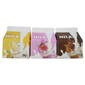 250ml Fresh Juice Gable Top Box pictures & photos