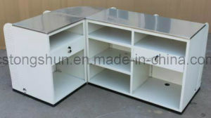 Supermarket Cashier Checkout Counter with Shelf/Shelves pictures & photos