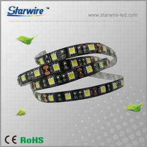 So Cool! Black PCB LED Strip Light 12V 60LED pictures & photos