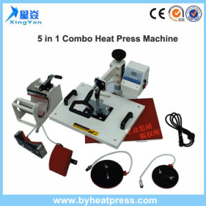 5in1 Combo Heat Transfer Machine pictures & photos
