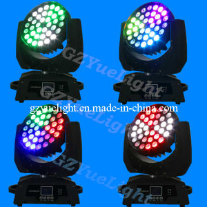 LED Zoom 36PCS RGBW 4in1 LED Moving Head Light pictures & photos