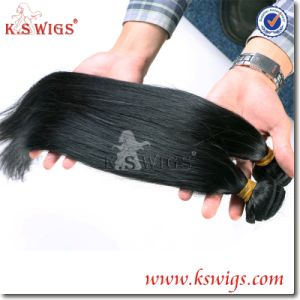 5A Quality 100% Virgin Brazilian Human Hair Weft pictures & photos