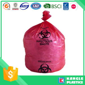 Plastic Heavy Duty Red Biohazard Bag for Hospital pictures & photos