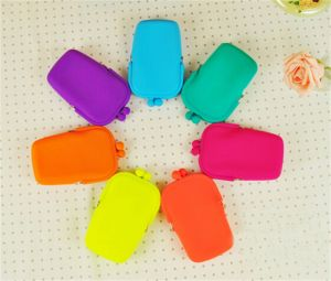 Portable Mini Fashion Silicone Cosmetic Bag pictures & photos