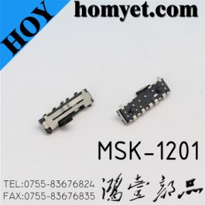 Micro Toggle Switch/Slide Switch (MSK-1201) pictures & photos