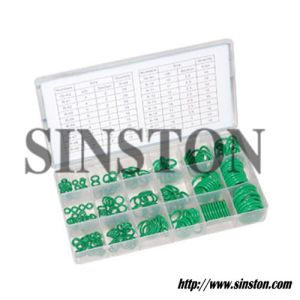 225 PCS Green O Ring Repair Kit (SINSTON)