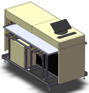 Gst-EL-830-6 on-Line Solar Cell Module EL Tester