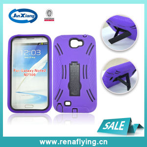 Wholesale 2 in 1 Kickstand Cell Phone Case for Samsung Note 2 pictures & photos
