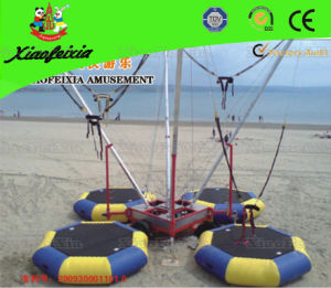 Outdoor Inflatable Bungee Trampoline (LG010) pictures & photos