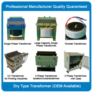 Transformer Factory Direct Selling 25va-50kVA Single Phase Control Transformer